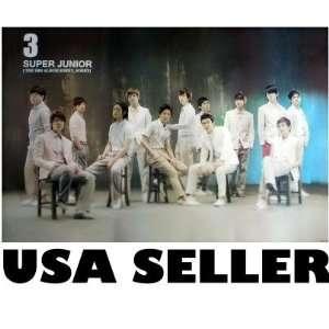 Super Junior 3 Sorry Sorry POSTER 34 x 23.5 Korean boy band SuJu
