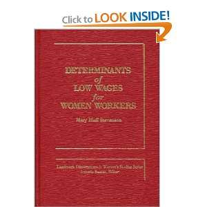 Determinants of Low Wages for Women Workers (Landmark