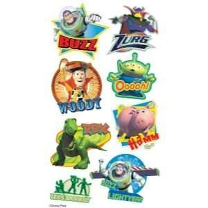 12 PACK PUFFY STIX TOY STORY Papercraft, Scrapbooking