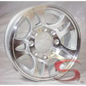 16 x 6 Aluminum Bullet Trailer Wheel 8 on 6.50 Bolt