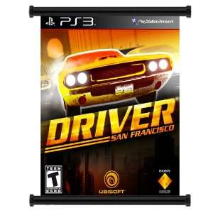 Driver San Francisco Game Fabric Wall Scroll Poster (32