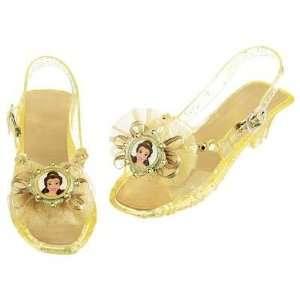 Disney Belle, Slippers, Costume, Dress up Pretend Play Light