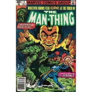 Man Thing #4 Comic Book