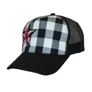 SoCal Heart Attack TRUCKER HAT WITH FRONT PLAID AND