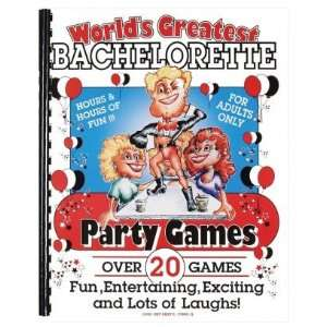 Bachelorette party games book 20 games Health & Personal