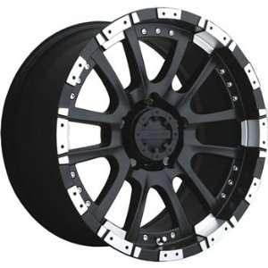 Advanti Racing Roccia 18x9 Black Wheel / Rim 6x135 with a 12mm Offset