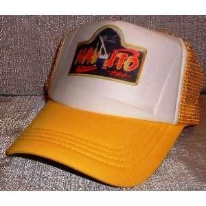 NARUTO Anime Yellow Mesh Baseball Cap HAT