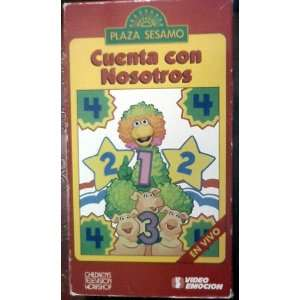 Plaza Sesamo   Cuenta con Nosotros (VHS) Jim Henson