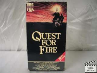 Quest for Fire VHS Ron Perlman, Rae Dawn Chong