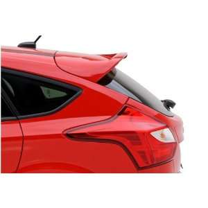 3dCarbon 691932 2012 Ford Focus 5 Door Factory Style Rear Roof Spoiler