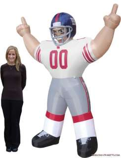 New York Giants NFL Large 8 Ft Inflatable Football Player 896332002856