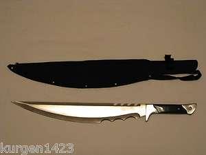 2012 APOCALYPSE ZOMBIE WAR BLADE SWORD MACHETE FULL TANG SHARP