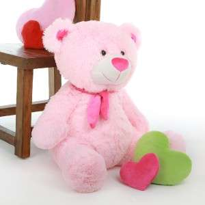 Shaggy 27 Brilliant Pink Teddy Bear By Giant Teddy Bear