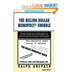 Dollar Monopoly ® Swindle (9781450092876): Ralph Anspach: Books
