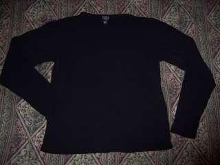 Eileen Fisher Silk Top Long Sleeve Blouse Shirt Petite