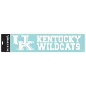 NCAA Kentucky Wildcats 4x16 Die Cut Decal