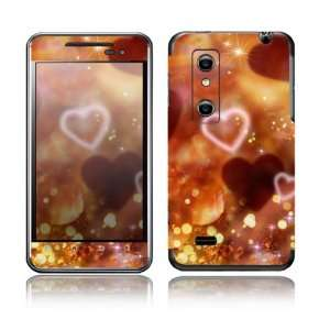 Love Love Love Design Decorative Skin Cover Decal Sticker