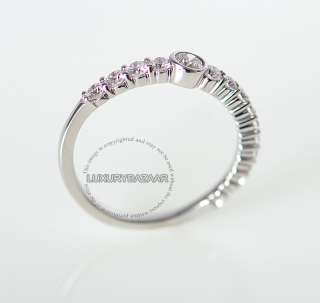 Hearts on Fire 18K White Gold & Diamond Journey Stacking Ring