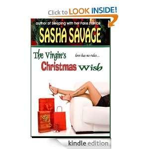 The Virgins Christmas Wish: Sasha Savage:  Kindle Store
