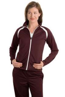 NEW Sport Tek   Ladies Tricot Track Jacket. LST90