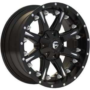 Fuel Nuts 20x10 Black Wheel / Rim 5x5 & 5x5.5 with a  19mm