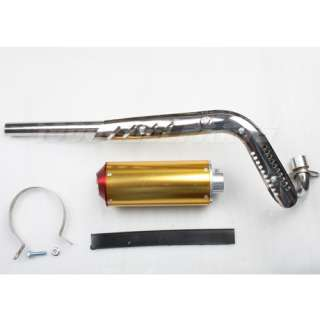 Muffler Exhaust Pipe 70cc 90cc 110cc 125cc Pit Dirt Bikes Motorcycle
