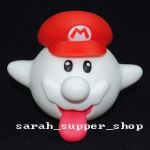 Super Mario Bros King Boo Ghost Doll Action Figures