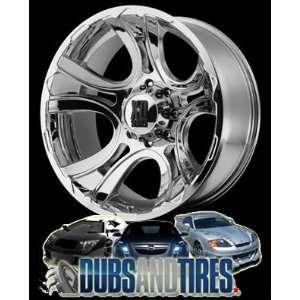 20 Inch 20x9 KMC XD SERIES wheels CRANK Chrome wheels rims Automotive