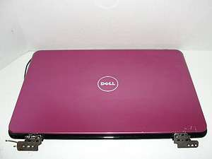 DELL INSPIRON 14R N4010 LCD BACK COVER LID & HINGES PINK (GR21X) [B