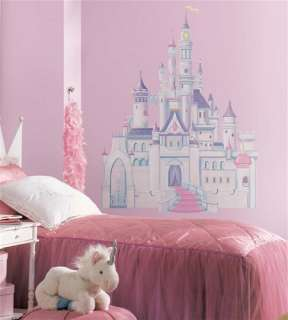 Disney Princess Castle Giant Wall Peel and Stick Decal, NEW SEALED