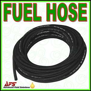 Over Braided Rubber Petrol Fuel Line Diesel Oil Tubing Hose Pipe Tube