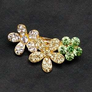 Swarovski Crystal Hair Barrette Clip Small and Cute