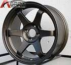 VARRSTOEN T1 16X8 4X100 +25 BRONZE RIM WHEEL FIT CIVIC MIATA INTEGRA