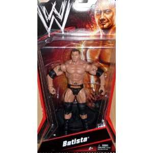 BATISTA   WWE Wrestling Basic Series Figure by Mattel
