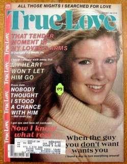 Lot Of 3 TRUE LOVE Magazines: October, November & December 1986