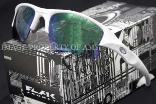 Oakley Flak Jacket XLJ White Jade Sunglasses 26 222