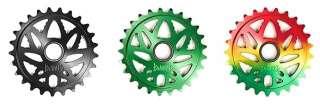BANNED BUDSAW BMX BIKE BICYCLE WEED LEAF SPROCKET CHAINWHEEL 25t RASTA