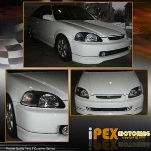 96 98 Honda Civic EK TYPE R Style JDM Black Headlights