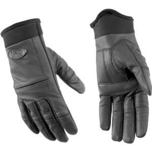 River Road Chisel Mens Leather Harley Touring Motorcycle Gloves w