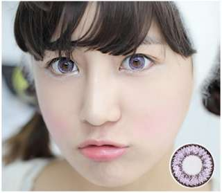 Color Contact Lenses with case nq VIOLET Farb&Funlinsen