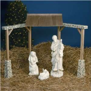 Everearth nativity scene toy kids wooden christmas story manger play