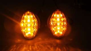 Motorcycle LED Turn Signals Indicator Honda CBR 1000 RR Smoke