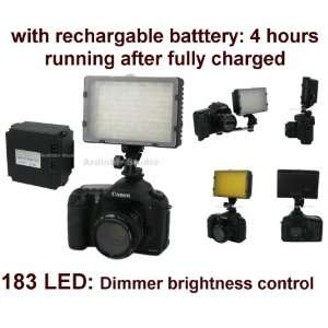 520lm LED Light with Rechargable Battery (4 hours running) for Olympus