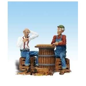 Woodland Scenics A2522 G Scale Checker Bros. & Hound Figures