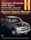 2011 2012 chevrolet gmc silverado sierra shop manual service repair