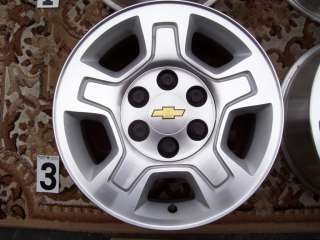 GMC 1500 SILVERADO 17 WHEELS RIMS STOCK FACTORY TAHOE SUBURBAN SIERRA