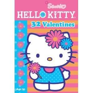 Hello Kitty Valentine Cards 32pk Toys & Games