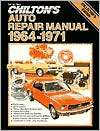 Chiltons Auto Repair Manual, Chilton