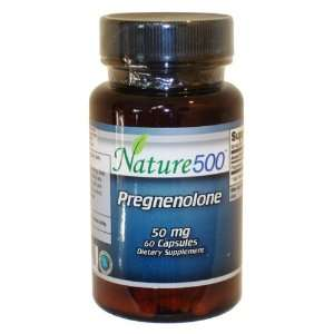 Pregnenolone 50mg Promotes Depression Relief and Mental Alertness