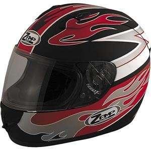 Zamp FJ 2 Multi Helmet   X Small/Matte Red Flame